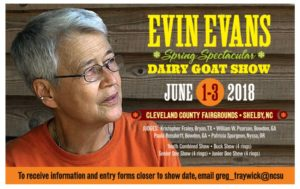 Cover photo for Evin Evans Spring Spectacular Dairy Goat Show