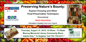 Cover photo for Preserving Nature's Bounty: Explore Freezing and Other Food Preservation Techniques