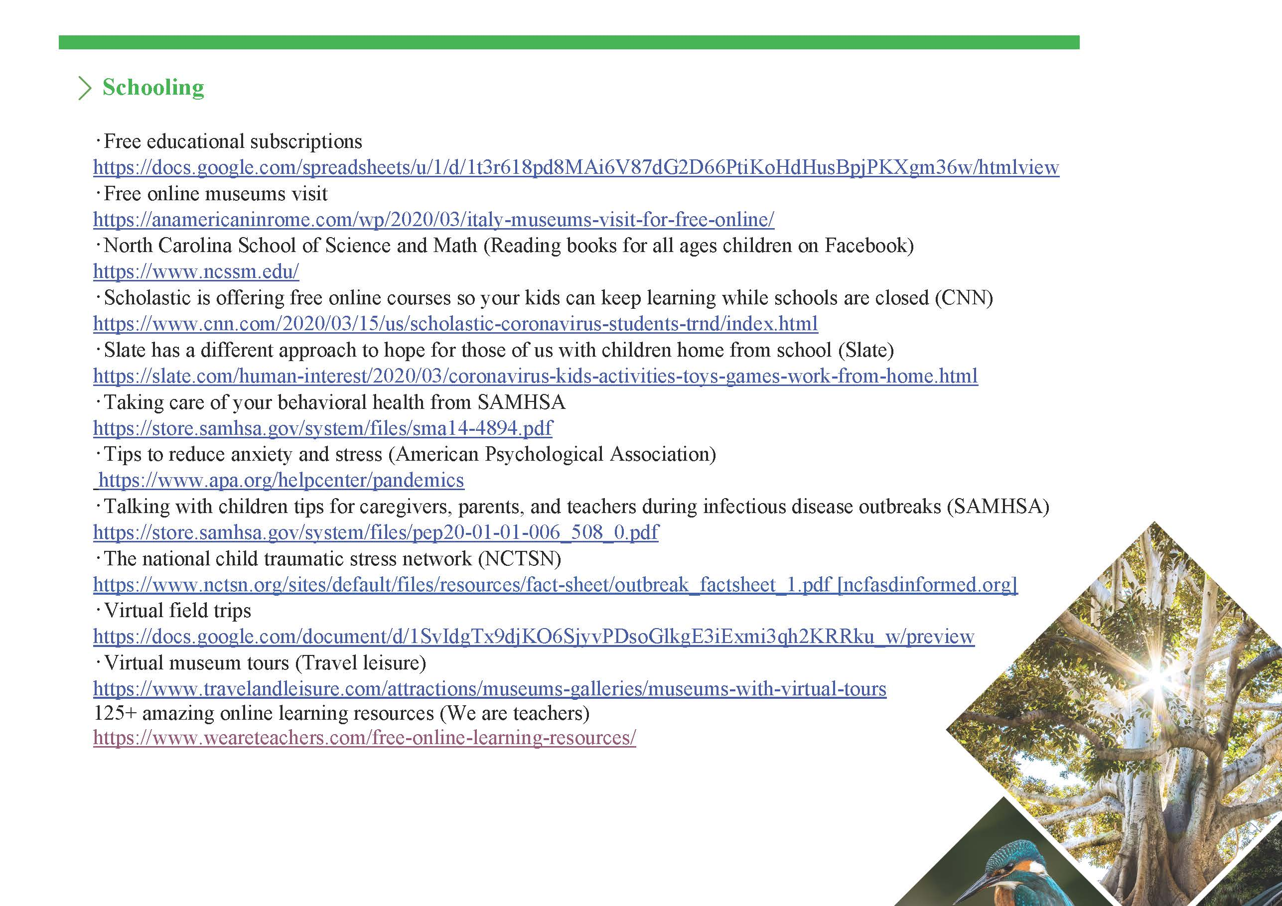 Resources page 2