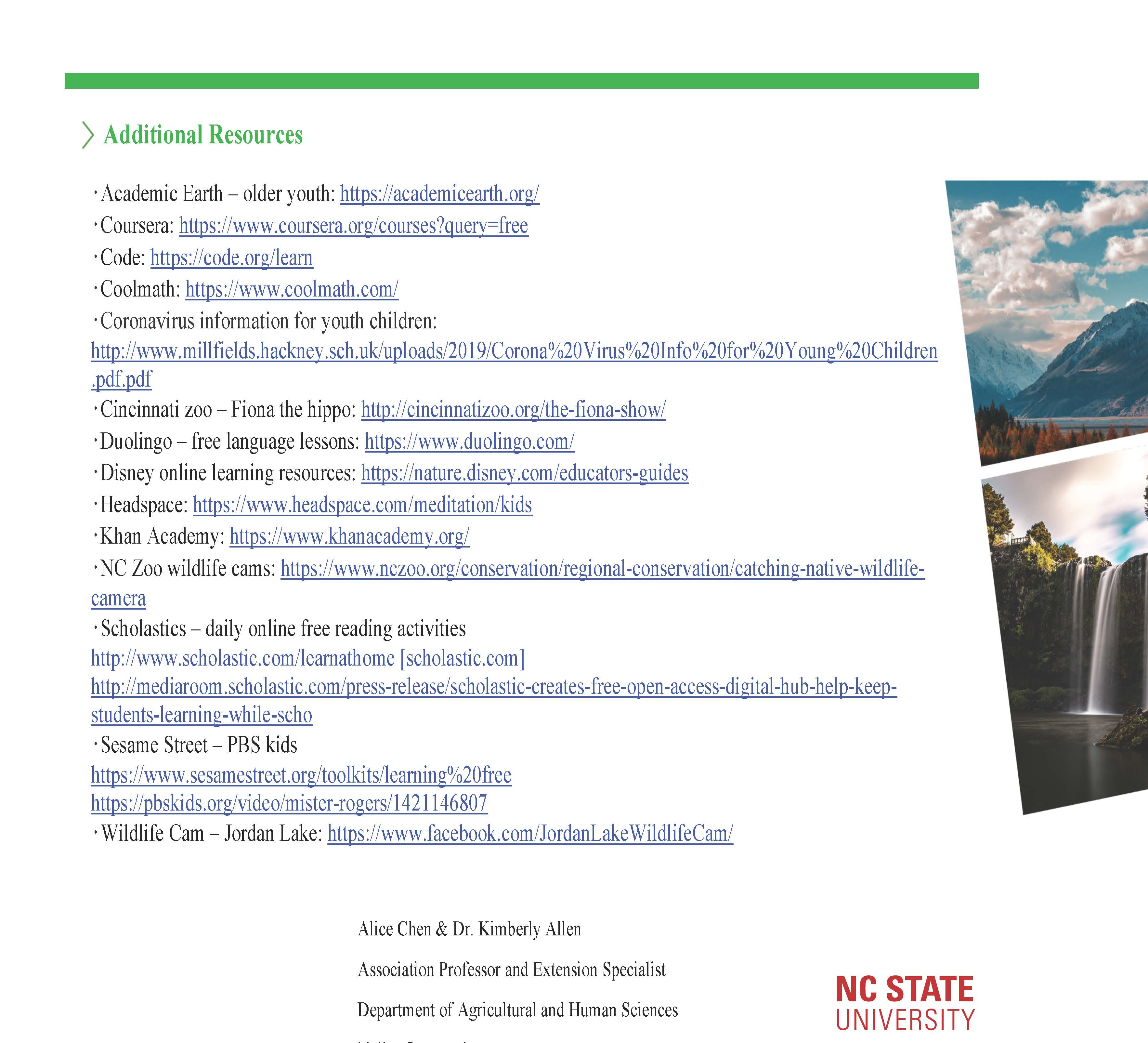Resources page 3