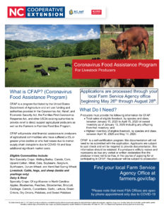 Cover photo for USDA Announces Details of Direct Assistance to Farmers Through the Coronavirus Food Assistance Program